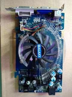 GALAXY Nvidia 9600GSO 384mb, 192 bit, 全高清遊戲顯示咭