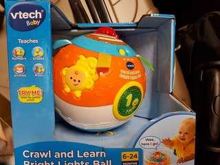 Vtech Baby Bright Lights Ball / crawl and learn
