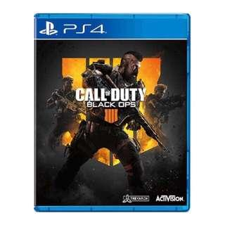 PS4 Call Of Duty:black ops 4 (new)