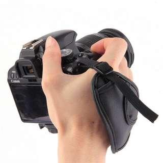 Camera Leather Hand Grip Strap