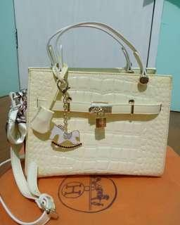 Hermes white bone #oktosale