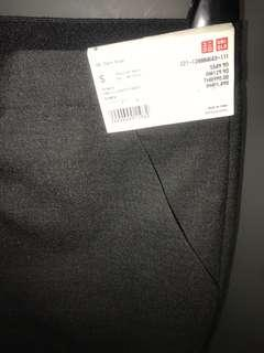 Uniqlo Women Ankle Length Pants Dark Gray