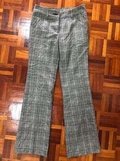 Checkered pant