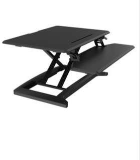 Standing desk ergonomic (Black)