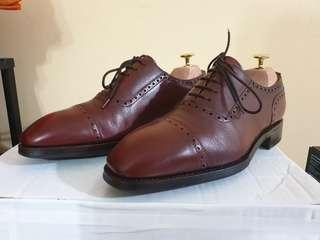 Preloved Yanko 915 Burgundy Adelaide Oxford