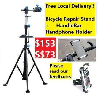 Repair stand with free delivery