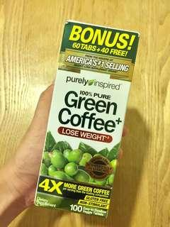 Green Coffee Weight Loss Supplement Capsules
