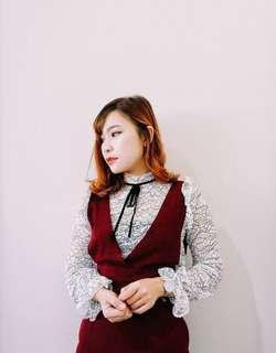 Blouse stradivarius / white blouse