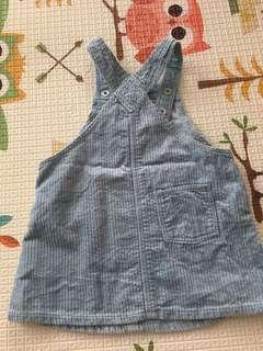 HnM green mint overall