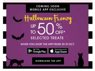 Sephora Halloween Frenzy 50% off Sale!