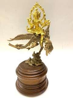Phra Prasam Prasit Blue Swan, 18 cm high 2558