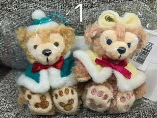 🚚 全新日本東京迪士尼達菲/雪莉梅 含吊牌兩隻一組只要999原價出售