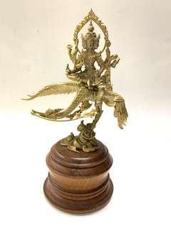 Phra Prasam Prasit blue swan 18cm 2558 bronze
