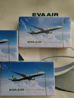 🚚 有13副 全新未拆封 長榮航空 EVA 撲克牌 飛機 有13副 可議價