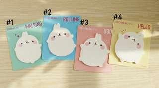 Molang Basic Post it Note