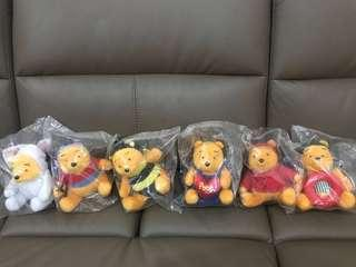 McDonald's Winnie the Pooh collection