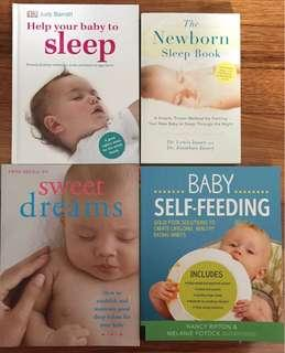 Parental/ baby books all for $30