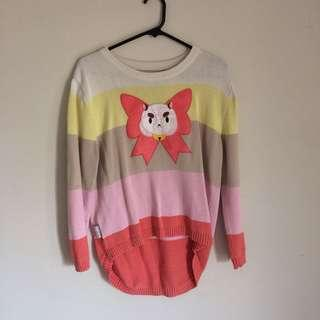 🐝 Bee And Puppycat PuppyCat Patch Sweater 🐝