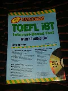 Buku TOEFL IBT Barrons