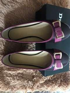 Original dune flat shoes with box