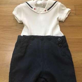Ralph Lauren Convertible Sailor Shortall 9 months