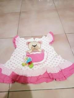 dress bayi 3-6bln