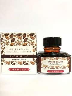 J. Herbin Fountain Pen Ink Scented Chocolate Brown 30ml