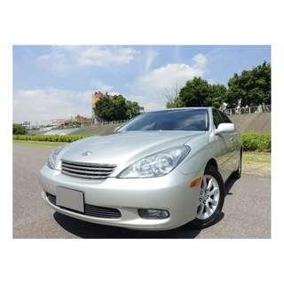 【新車192萬,低調的奢華 值得您擁有】2004年領牌 LEXUS ES330
