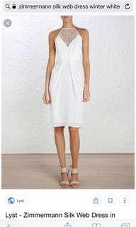 Zimmermann Ivory White Dress size 2