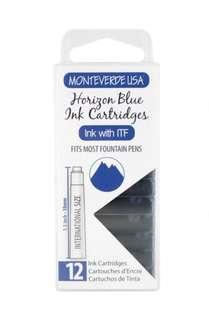 Monteverde Fountain Pen Ink Cartridges Horizon Blue