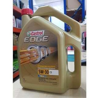 Castrol EDGE 5W30 C3 Fully Synthetic Engine Oil (Dexos2™)