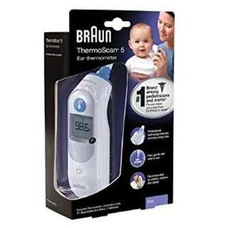 🚚 BRAUN IRT 6500 ThermoScan 5 Ear Thermometer (Best for Home Use!)