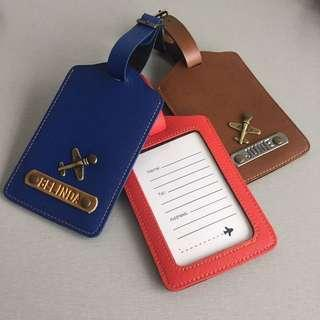 *NEW LUGGAGE TAGS* Personalised/Customized Passport Holders/Covers, Travel Organizers, Clutches, Wristlets, Card Holders, Laptop Sleeves/Cases, Pencil Cases, Keychains, Lanyards, Travel, Luggage