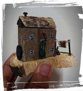 A Little Rustic Wooden House