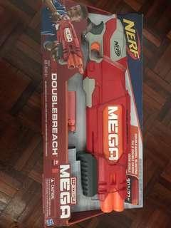 Nerf N-Strike Mega Doublebreach + 10 Mega bullet pack