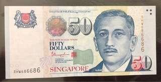 Singapore Portrait $50 Radar 686686