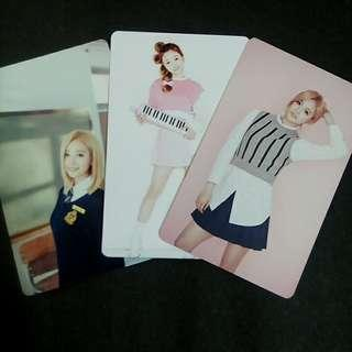 WJSN'S XUANYI UNOFFICIAL PHOTOCARDS