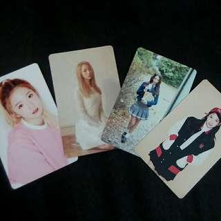 WJSN'S MEIQI UNOFFICIAL PHOTOCARDS