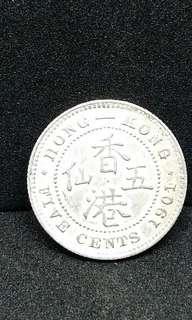 1901 5 Cents