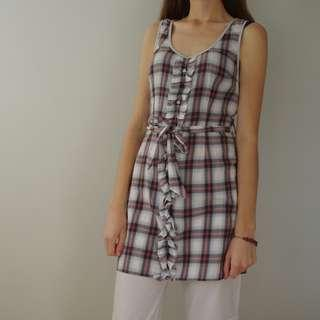 Bluejuice Plaid Mini Dress