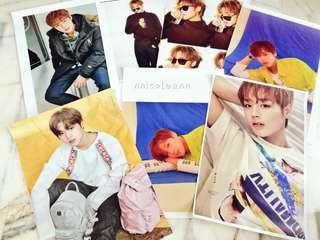 Park Jihoon Magazine Cut Set