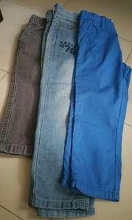 Bundle pants H&M,Ebound denim and Circo
