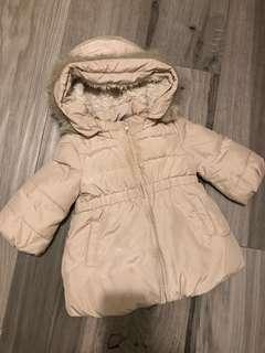 Baby Gap 女童夾棉厚褸