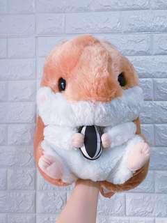 日本正版大倉鼠毛公仔