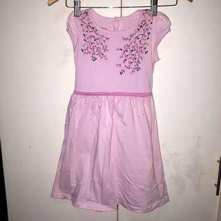 Girls Floral Casual Dress