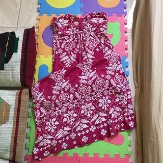 Tube long dress (summer dress)