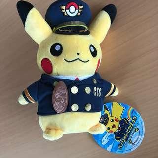 Pilot Pikachu Chitose & coin