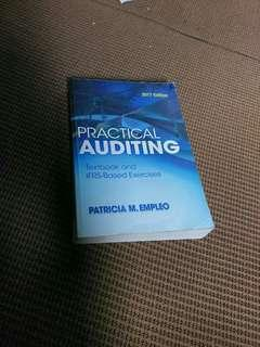 ORIGINAL PRACTICAL AUDITING TEXTBOOK BY Patricia Empleo 2017 edition