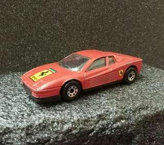 Matchbox Vintage 1986 S.1/59 Ferrari Testarosa Made in Macau 澳門製