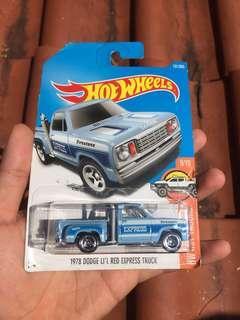 1978 Dodge Express Truck Hotwheels